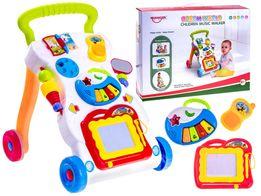 Chodzik jeździk PCHACZYK DO NAUKI CHODZENIA Zabawka dla dziecka