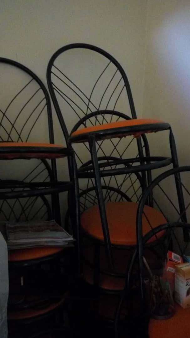 Restaurant chairs and tables 0