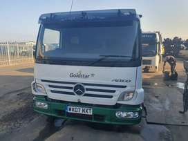 MERCEDES ATEGO MP 2 SLEEPER CAB COMPLETE