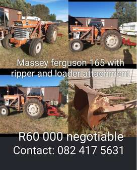 Massey fergason 165 and ripper