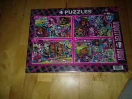 Puzzle układanki nowe zapkowane