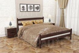 Кровать 2,0*1,6 дерево - бук, матрас