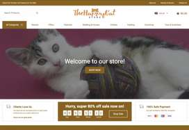 The Happy Cat Store   200+ Products