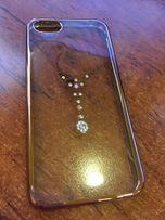 Etui Case iPhone 5s, przezroczyste z diamentami