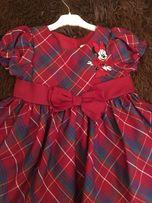 Платье Disney оригинал 12-18 мес