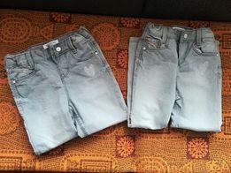 Sprzedam NOWE spodnie dziewczęce r 110 2 szt.