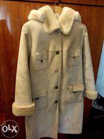 Продам зимнее вельветовое пальто