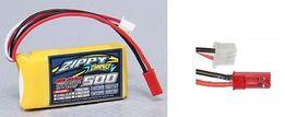 Bateria AKUMULATOR LIPO 500 mah 2s 7,4V 35C 45C