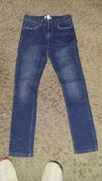 Spodnie jeansowe OKAIDI dziewczęce 150 cm