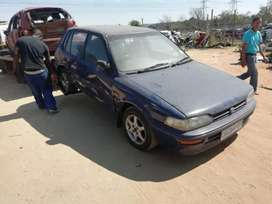 Toyota Tazz Conquest Stripping For Spares