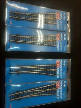 Model Railway HO Track, Turn-outs & Wall retaining kit