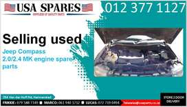 Jeep Compass 2.0/2.4 MK 2007-17 used engine spare parts for sale
