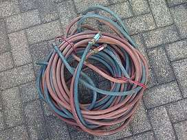 Acetylene / Oxygen pipe with valves
