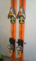 Горные лыжи Rossignol_V-TEC с креплением SalomonS850