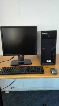 Image of Lenovo thinkcenter M58 workstation tower 6 month warranty