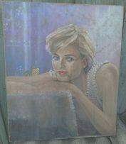 """картина """"Леди Диана Спенсер(Леди Ди)"""" холст,масло,50*60см"""