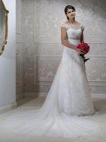 Шикарное свадебное платье Hadassa со съемным шлейфом! Есть примерка!