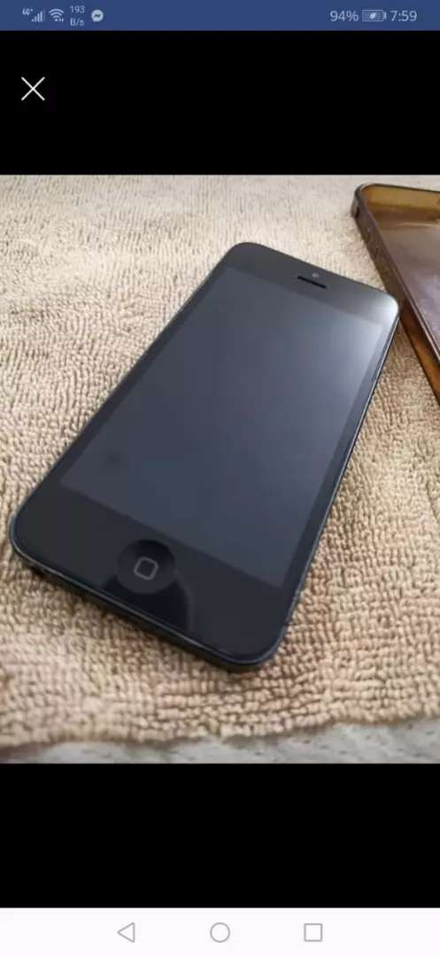 Iphone5 space grey 0