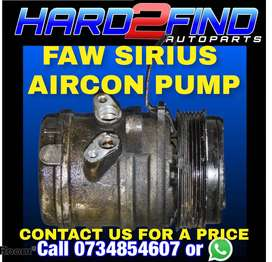FAW SIRIUS AIRCON PUMP CONTACT US FOR A PRICE