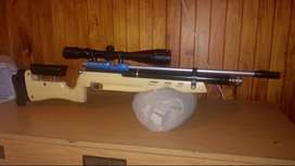 AIR ARMS S400MPR with ULTRA OPTEC 16x44 SCOPE!!