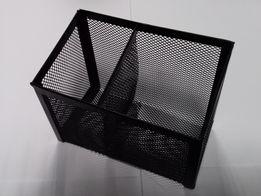 Organizer/ przybornik siatkowy, metalowy na biurko