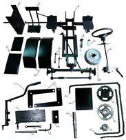 КИТ-3 комплект для переделки мотоблока в минитрактор