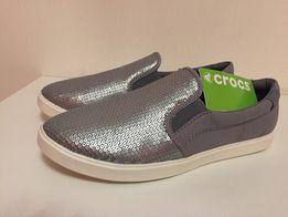 Слипоны женские Crocs