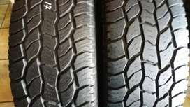 This set of 4x4 tyres sizes 285/70/17 bf Goodrich ko now available