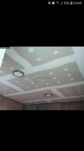 Ceilings renovations and installation