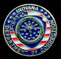 Знак департамента исполнения наказаний штат Индиана США