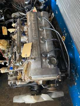 NISSAN H/BODY KA24 16v ENGINE AND GEARBOX FOR SALE