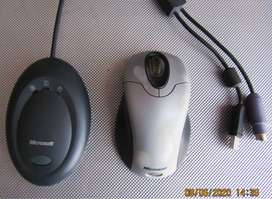 Microsoft Wireless USB/PS2 Mouse and Desktop Receiver