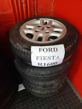 Used Mag Wheels and Tyres