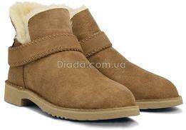 Ugg Australia McKay Boot Угги женские Оригинал! коричневые с ремешком
