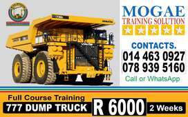 777 Dump Truck Jobs & Training Provider in Kuruman,Kimberley