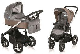 Коляска 2в1 Baby Design Husky+ прогулянковий візочок в ПОДАРУНОК