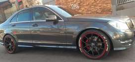 MERCEDES AMG WITH SUN ROOF IN EXCELLENT CONDITION