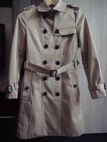 Płaszczyk wiosenny w stylu Burberry modna KRATA R. M L XL