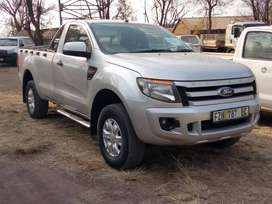 Ford Ranger XLS 4X2 Bakkie, 153000 km, privately used, price R175000