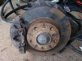 Disks and calipers for BMW 318I E46 and other parts for sale