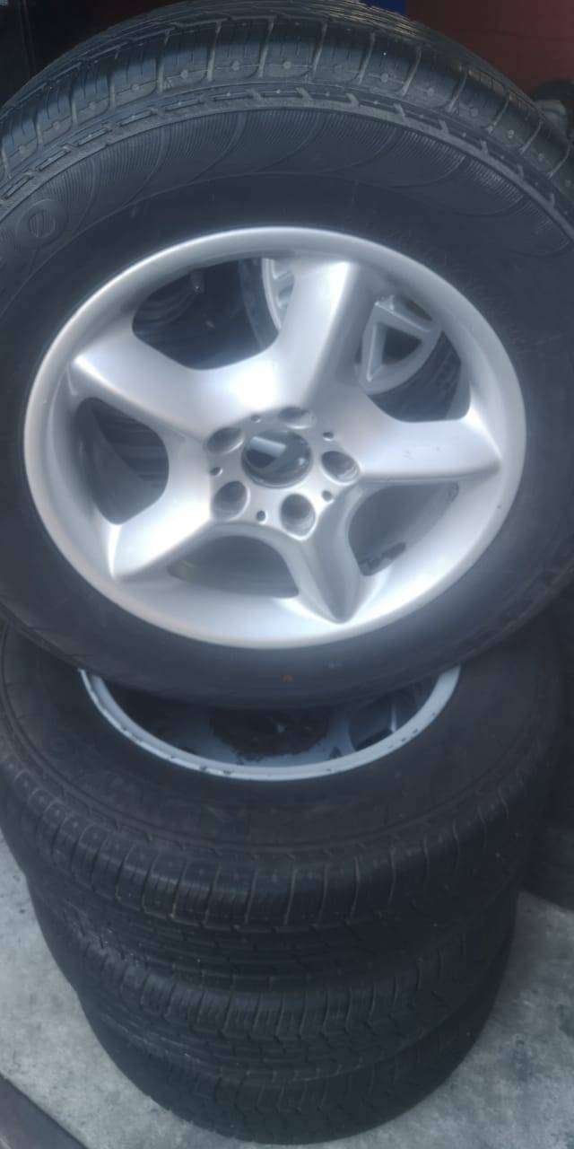 BMW mag rims and tyres for sale R5 500 excluding vat 0