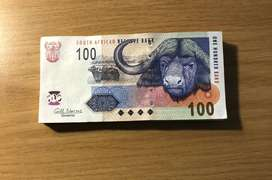 Buffalo R100 notes brand new in original number sequence