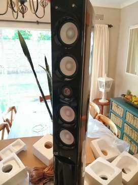 Sansui surround sound speaker set