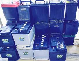 Good 2nd hand car BATTERY with 6 month warranty