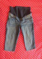 Spodnie ciążowe PAPAYA MATERNITY jeansy 3/4 rozm. M/L