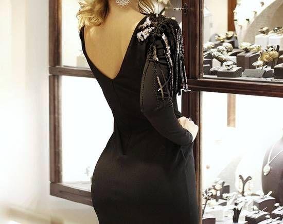 Crna haljina 0