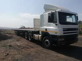 Daf truck and trailer