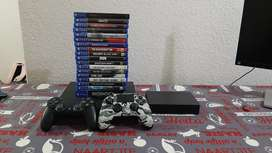 PS4, 2 controllers, 20 games, 3TB Hard Drive, Astro A50 Headset
