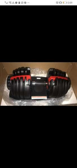 Adjustable Dumbbells available