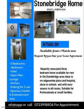 COTTAGES FOR RENT WEST DRIVE, KING WILLIAMS TOWN 1 MARCH 2021